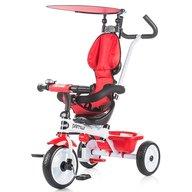 Chipolino - Tricicleta Primus Suport picioare, Control al directiei, Rosu