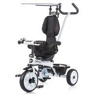 Chipolino - Tricicleta Primus Suport picioare, Control al directiei, Alb