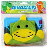 Girasol - Jucarie de baie Citim in cadita! Dinozauri