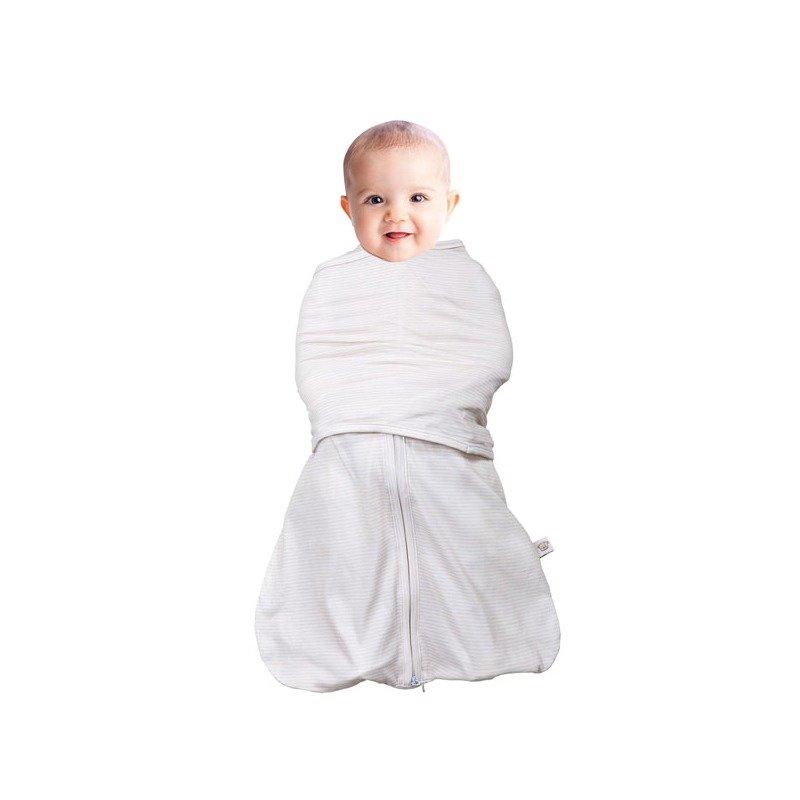 Sistem de infasare pentru bebelusi 3 in 1 crem 0-3 luni Clevamama din categoria Saltele si accesorii infasat de la Clevamama