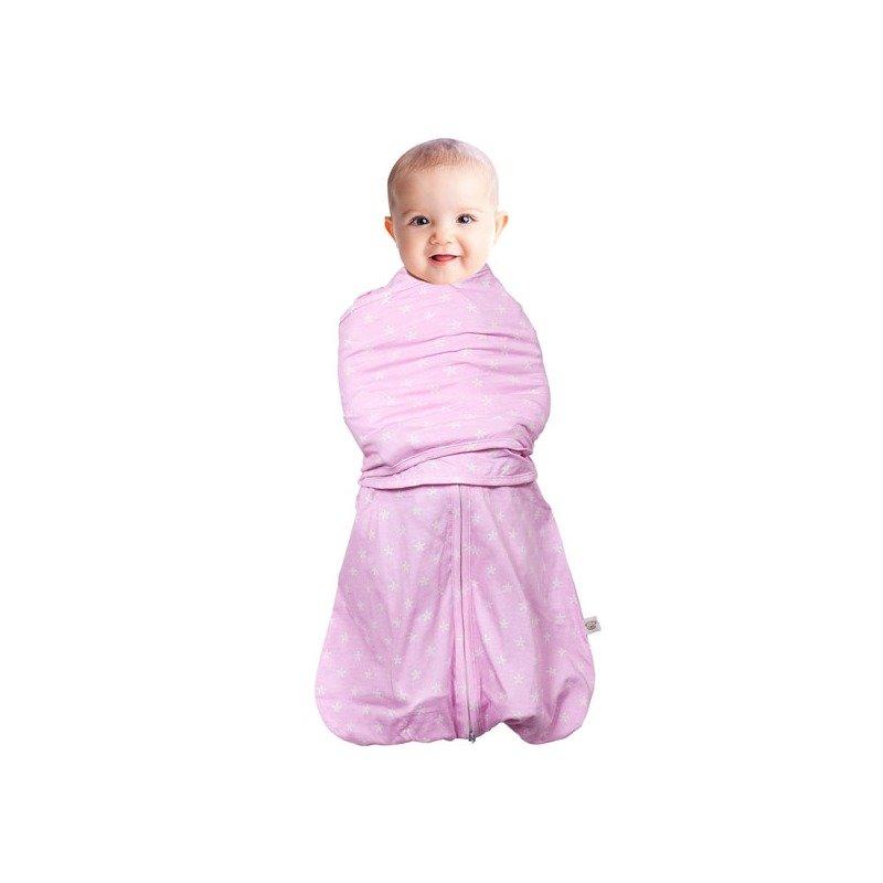 Sistem de infasare pentru bebelusi 3 in 1 pink 0-3 luni Clevamama din categoria Saltele si accesorii infasat de la Clevamama