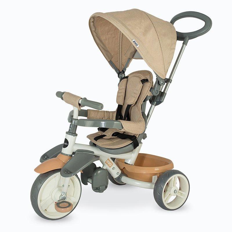 Coccolle Tricicleta Evo Bej din categoria Triciclete si Trotinete pentru copii de la Coccolle