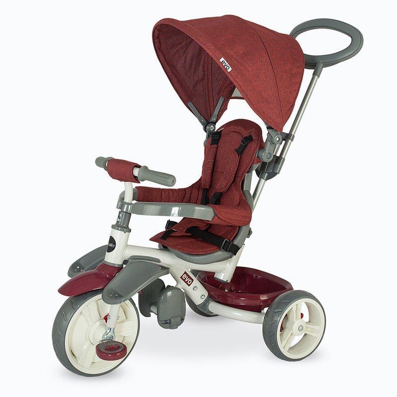 Coccolle Tricicleta Evo Visiniu din categoria Triciclete si Trotinete pentru copii de la Coccolle