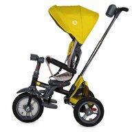 Coccolle - Tricicleta multifunctionala 4in1 cu sezut reversibil Velo Air Mustar, Resigilata