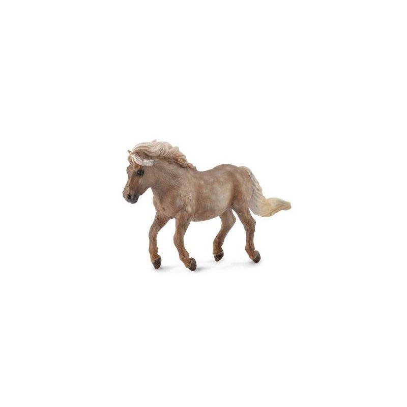 Collecta Figurina Ponei Argintiu Pestrit Shetland M din categoria Figurine copii de la Collecta
