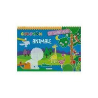 Girasol - Carte de colorat Animale Cu sabloane
