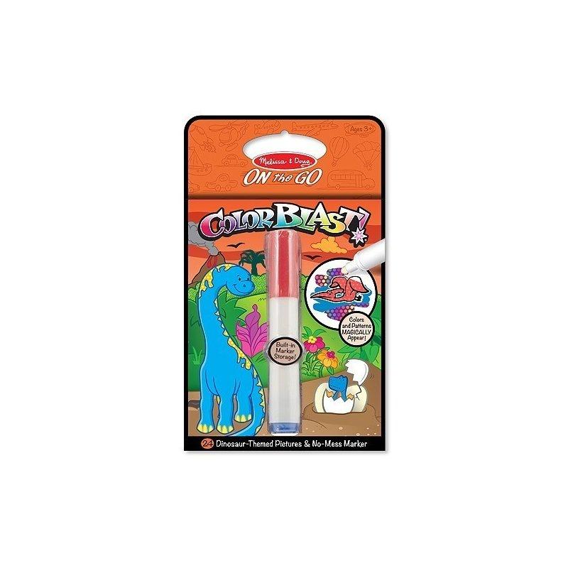 Melissa and Doug colorblast caiet de activitati cu dinozauri din categoria Carti de colorat de la Melissa & Doug