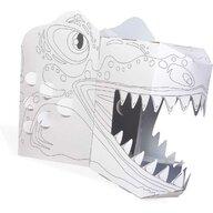 Fiesta Crafts - Set creativ Coloreaza-ti propria Masca 3D T-Rex