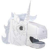 Fiesta Crafts - Set creativ Coloreaza-ti propria Masca 3D Unicorn