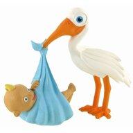 Comansi - Figurina MomentsStork with Baby Boy