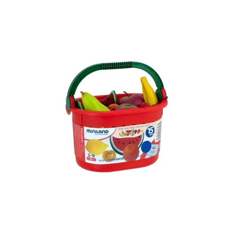 Miniland Cos cu fructe Miniland din categoria Jucarii educative de la Miniland