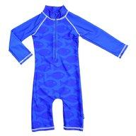 Swimpy - Costum de baie Fish Blue , protectie UV , marime 62-68