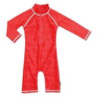 Swimpy - Costum de baie Fish Red , protectie UV , marime 74-80