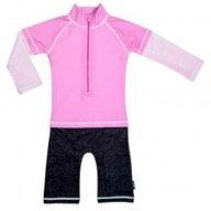 Costum de baie Pink Ocean marime 86- 92 protectie UV Swimpy