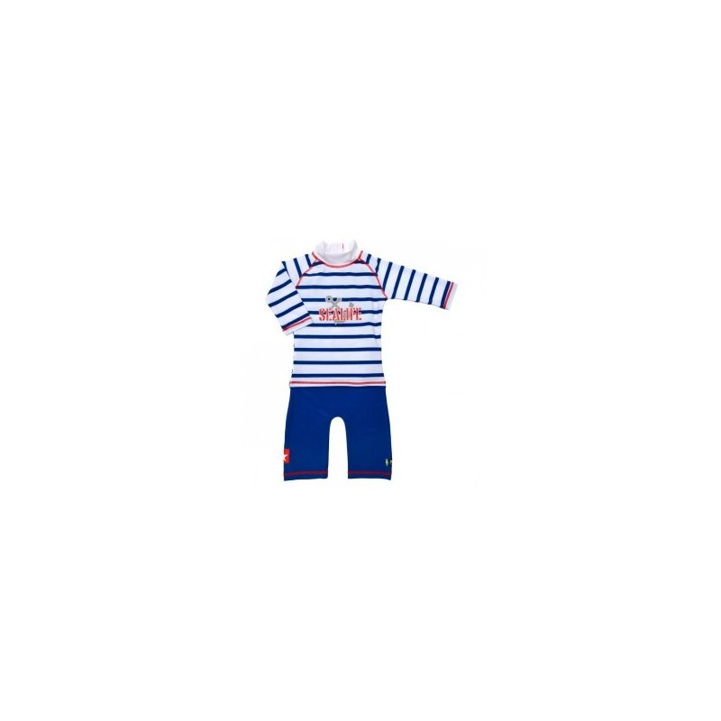 Costum de baie SeaLife blue marime 86- 92 protectie UV Swimpy