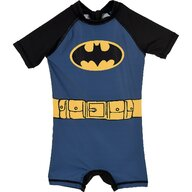 SunCity - Costum de baie UV cu maneci scurte si fermoar Batman SE1955 Albastru_4 ani (104 cm)