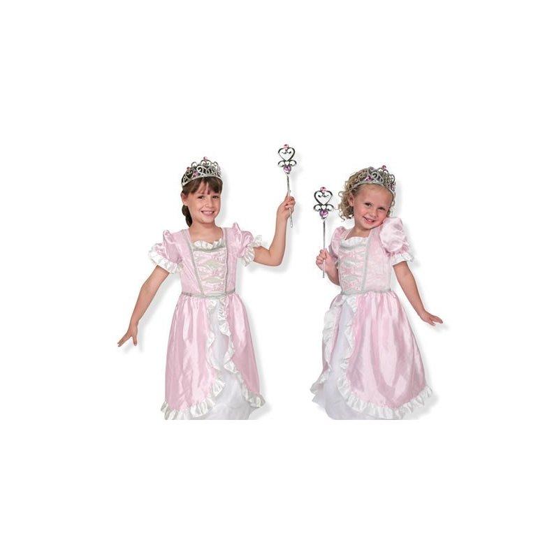 Melissa and Doug costum de carnaval jocuri de rol printesa din categoria Gradinita si scoala de la Melissa & Doug