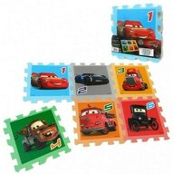 SunCity - Covoras puzzle 6 piese Disney Cars