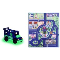 Dickie Toys - Covoras de joaca  Eroi in Pijama cu masina
