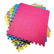 Springos - Covoras de joaca XXL, Tip puzzle , 180x120 cm , Multicolor