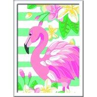 Ravensburger - Set Pictura flamingo