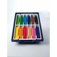 Nexus - Set Creioane colorate groase hexagonale 144 buc