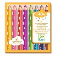 Djeco - Creioane colorate pentru bebe