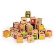 Ecotoys - Cuburi Educationale Cu litere cifre si imagini