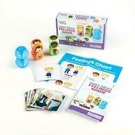 Hand2Mind - Joc educativ Cuburi pentru conversatii Invata totul despre emotii