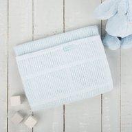 CuddleCo. - Paturica celulara din bambus 90x60 cm Comfi Love Baby Blue