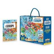 Sassi - Puzzle educativ Cunoaste si exploreaza - Europa Puzzle Copii, pcs  210