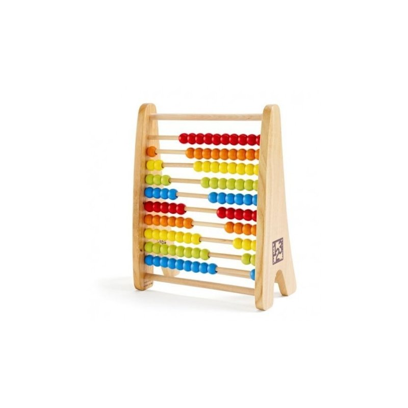 Curcubeu - abac cu bile colorate - HAPE