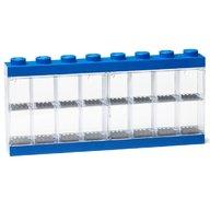 LEGO - Cutie albastra pentru 16 minifigurine