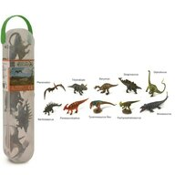 Collecta - Cutie cu 10 minifigurine Dinozauri set 1