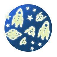 Djeco - Decor fluorescent, Cosmos