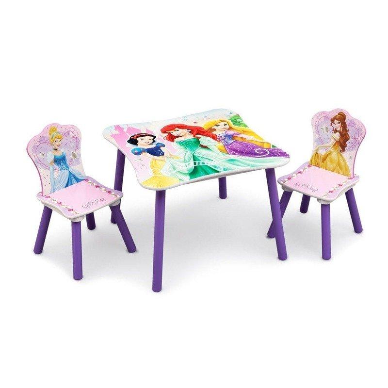 Delta Children Set masuta si 2 scaunele Disney Princess Friendship din categoria Mobila si decoratiuni de la Delta Children