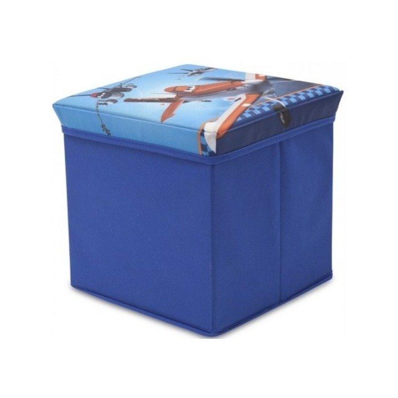 Delta Children Taburet si cutie depozitare jucarii Disney Planes din categoria Mobila si decoratiuni de la Delta Children