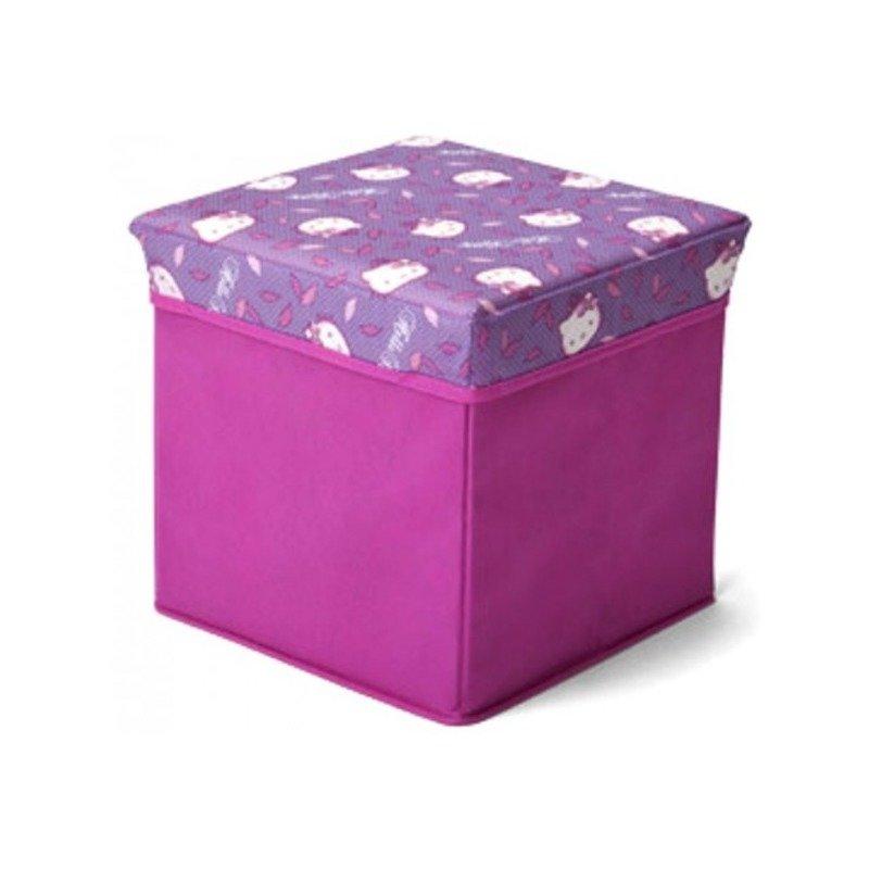 Delta Children Taburet si cutie depozitare jucarii Hello Kitty din categoria Mobila si decoratiuni de la Delta Children