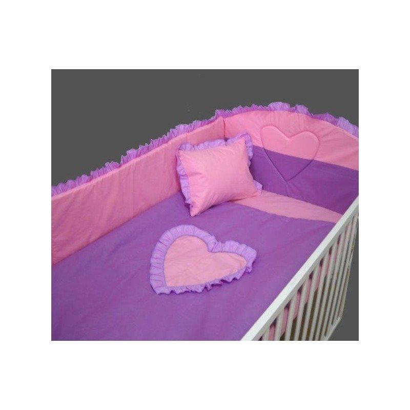 Deseda Lenjeria de pat Inimioara Mea 140x 70 cm diverse culori din categoria Lenjerie patuturi de la Deseda