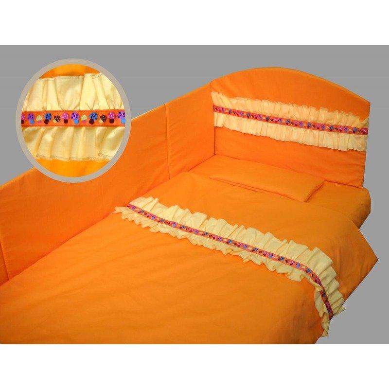 Deseda Lenjeria de pat Prieteni somnorosi 140x 70 cm diverse culori din categoria Lenjerie patuturi de la Deseda
