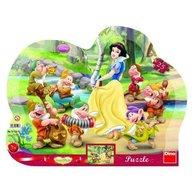 Dino - Toys - Puzzle cu rama Alba ca Zapada 25 piese