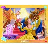 Dino - Toys - Puzzle cu rama Frumoasa si Bestia 40 piese