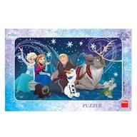 Dino - Toys - Puzzle Frozen Snowflakes 15 piese