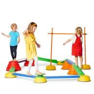 Gonge - Jucarie de echilibru Disc basculant Pentru traseu psihomotric, Cu baza