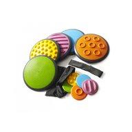 Gonge - Jucarie de echilibru Discuri tactile 5 perechi