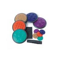 Gonge - Jucarie de echilibru Discuri tactile 5 perechi, Multicolor