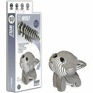 Brainstorm Toys - Puzzle DIY Animale 3D Eugy, Lup