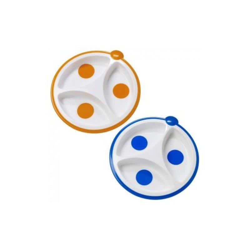 Dr. Brown's Farfurie compartimentata ptr bebelusi (BPA free)( 2 pack) din categoria Canute boluri si tacamuri de la Dr. Brown's