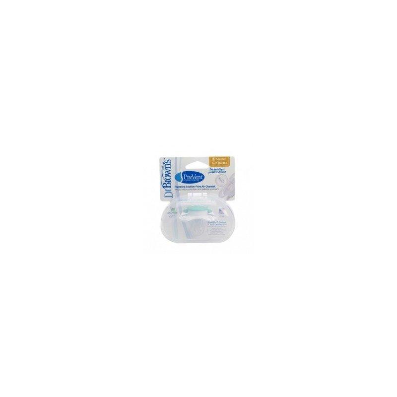 Dr. Brown's Suzeta Silicon PreVent Niv.2 ( 6-18 luni) (BPA free) din categoria Suzete si accesorii de la Dr. Brown's