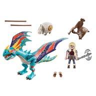 Playmobil - Set de constructie Cursa dragonilor - Astrid si Stormfly , Dragons